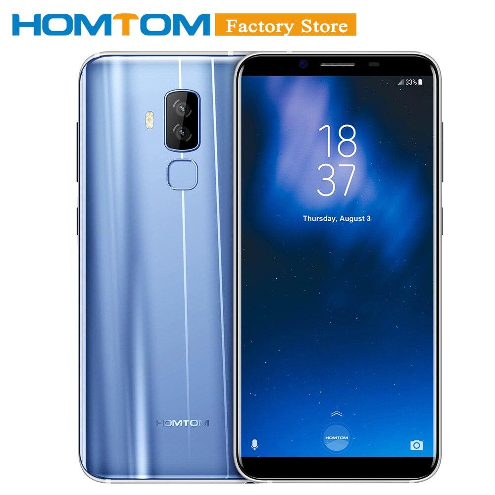 HOMTOM S8 Smartphone 4G 5 7 HD 18 9 Ratio MTK6750T Octa core 4GB RAM 64GB