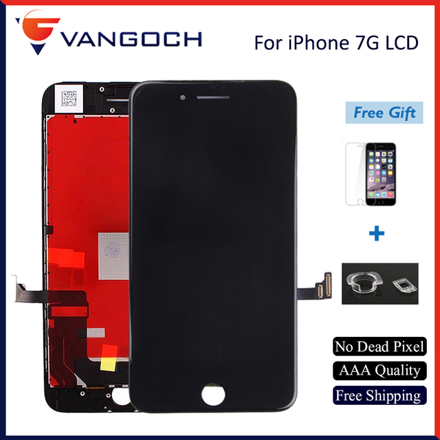on sale 5ccd2 95466 US $4.55 9% OFF|Tianma AAA+++ Quality LCD For iPhone 7 7 Plus 8G 8 Plus LCD  Display Assembly with 3D Touch Screen with Gift Free Shipping-in Mobile ...