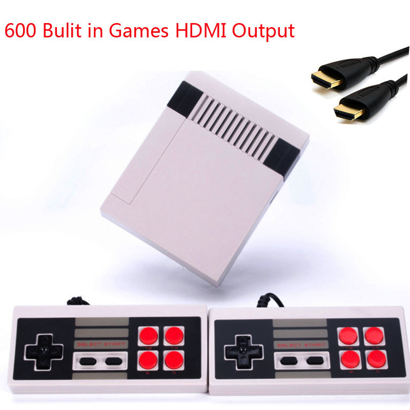 Coolbaby HDMI HD/AV Retro Classic handheld game player family Mini TV video game console Built-in 600/500 Games coolbaby rs 93 retro game console wireless controller version of the game console built in600 classic games entertainment system