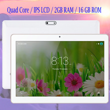 BDF New Android 6.0 2G+16G 10 inch MTK 6580 Quad Core Built in 3G Phone Call IPS Tablet PC WiFi 7 8 9 Android tablet PC 1280×800