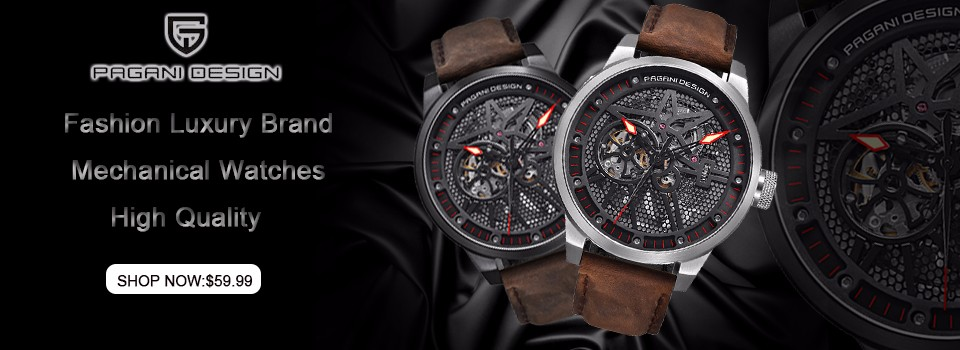 dd0a462ddb1bf Homme de mode étanche lâche-montage de luxe marque conception Pagani  militaire de quartz montres hommes relogio masculino montre de sport