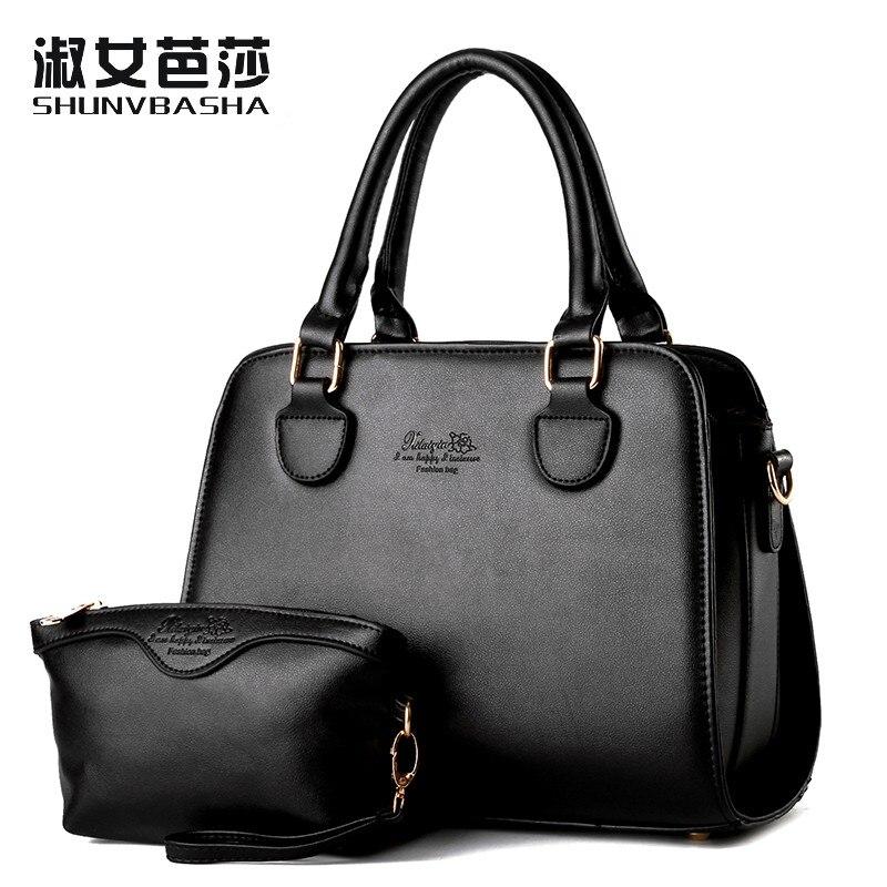 ФОТО SNBS 100% Genuine leather Women handbags 2017 New wave of female bag Korean fashion handbag shoulder bag Messenger picture