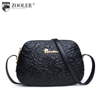 ZOOLER Fashion Genuine Leather Bag 2015 New Women Messenger Bags Desigual Small Luxury Channel Bag Famous