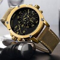 2018 New Men Sport Watches Men Waterproof Dual Time Zone Military Waterproof Watches Luxury Brand Men's Watch