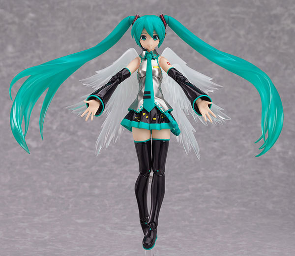 Anime Hatsune Miku Sexy Figure Figma 200 PVC Action Figure Collectible Model Kids Toys Doll 14CM New novelty 14cm can be opened leather sexy anime figure sex toy pvc action figure collectible figuras anime model toys funny toys