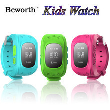Kid GPS + LBS Tracker SOS Smart Watch Phone Q50 Children Baby Safe Smartwatch Wristwatch SIM Pedometer Sports Wrist Watches