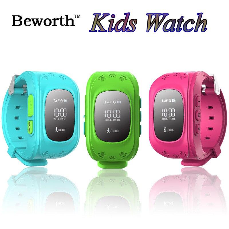 Kid GPS Tracker SOS Smart Watch Phone Q50 Children Baby Safe Smartwatch Wristwatch SIM Pedometer Sports