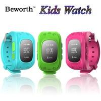 Kid GPS Tracker SOS Smart Watch Phone Children Safe Emergency Wristwatch GSM SIM Pedometer Sports Wrist