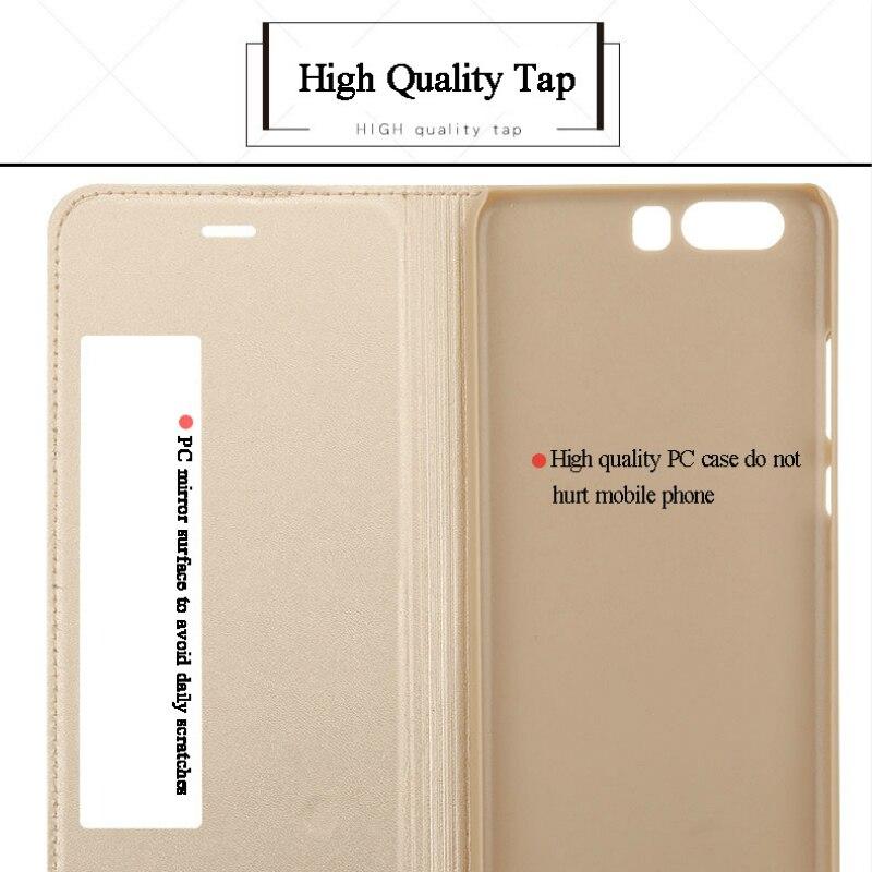 SHYPHIXV PU Flip Funda de cuero para Huawei P10 5.1 Inch Case con - Accesorios y repuestos para celulares - foto 5