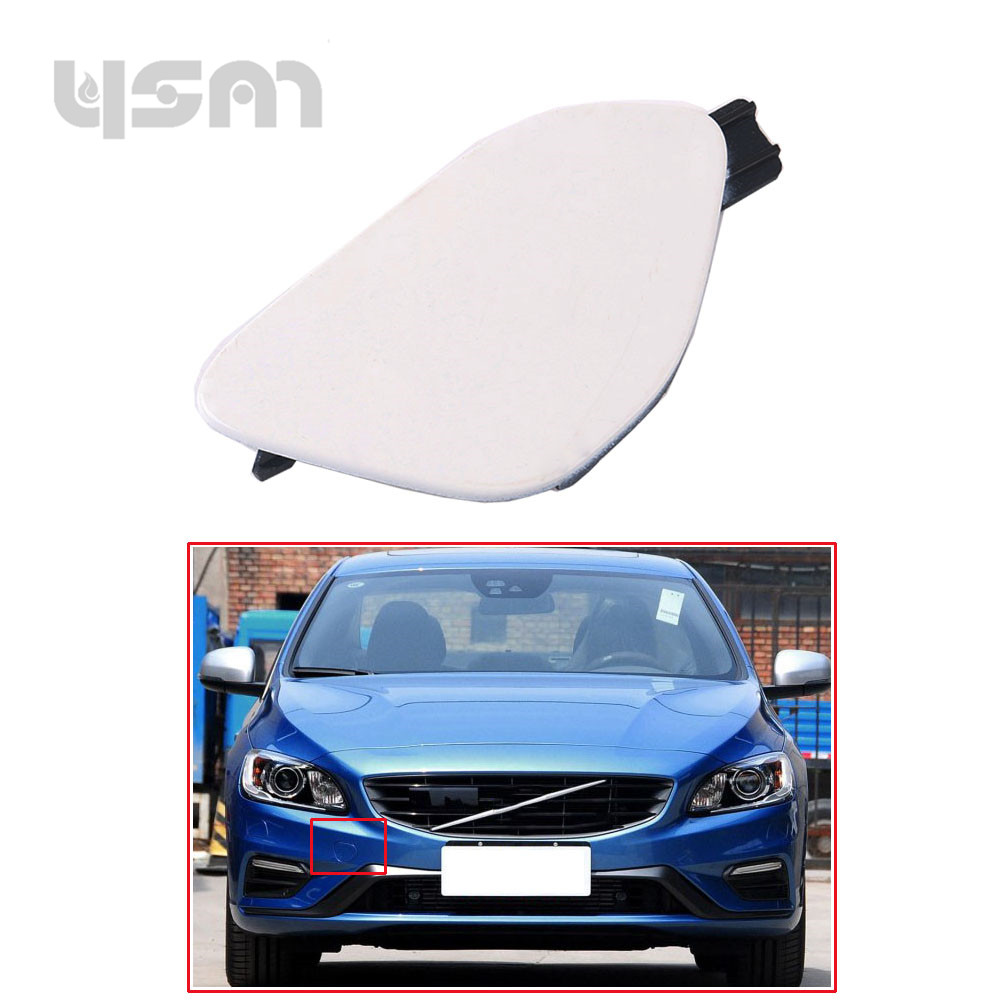 New Random Color Front Bumper Tow Hook Cover Lid 39820294 for Volvo S60 2014 2015 2016 3982 0294