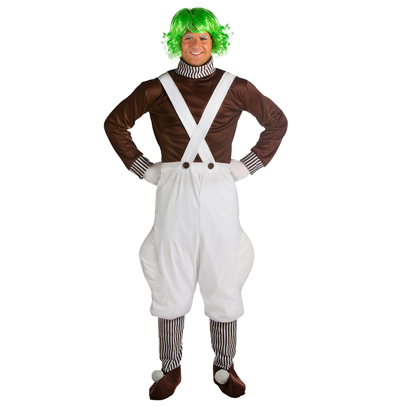 Stravaganze Adulto Oompa Loompa di Film in Costume