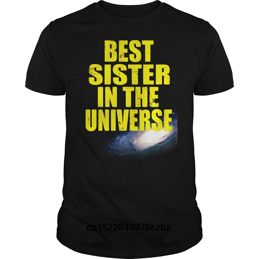 Best Sister In The Solar System Funny Novelty Tops T-Shirt Womens tee TShirt