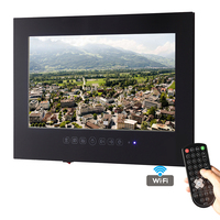 Free Shipping 32 Inch Android 4 2 Smart WiFi 1080P White Bathroom TV Black Waterproof TV