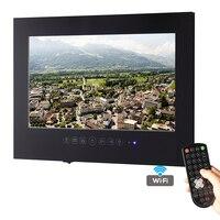 Livraison gratuite 32 pouce Android 4.2 smart WiFi 1080 P Blanc Salle De Bains TV Noir Étanche TV