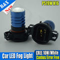 1pair 2X10W 10-30V PS19W H16 SMD LED PROJECTOR SIDELIGHT DRL BULB FOR AUDI A3 8P 2008+ WHITE XENON CANBUS ERROR FREE