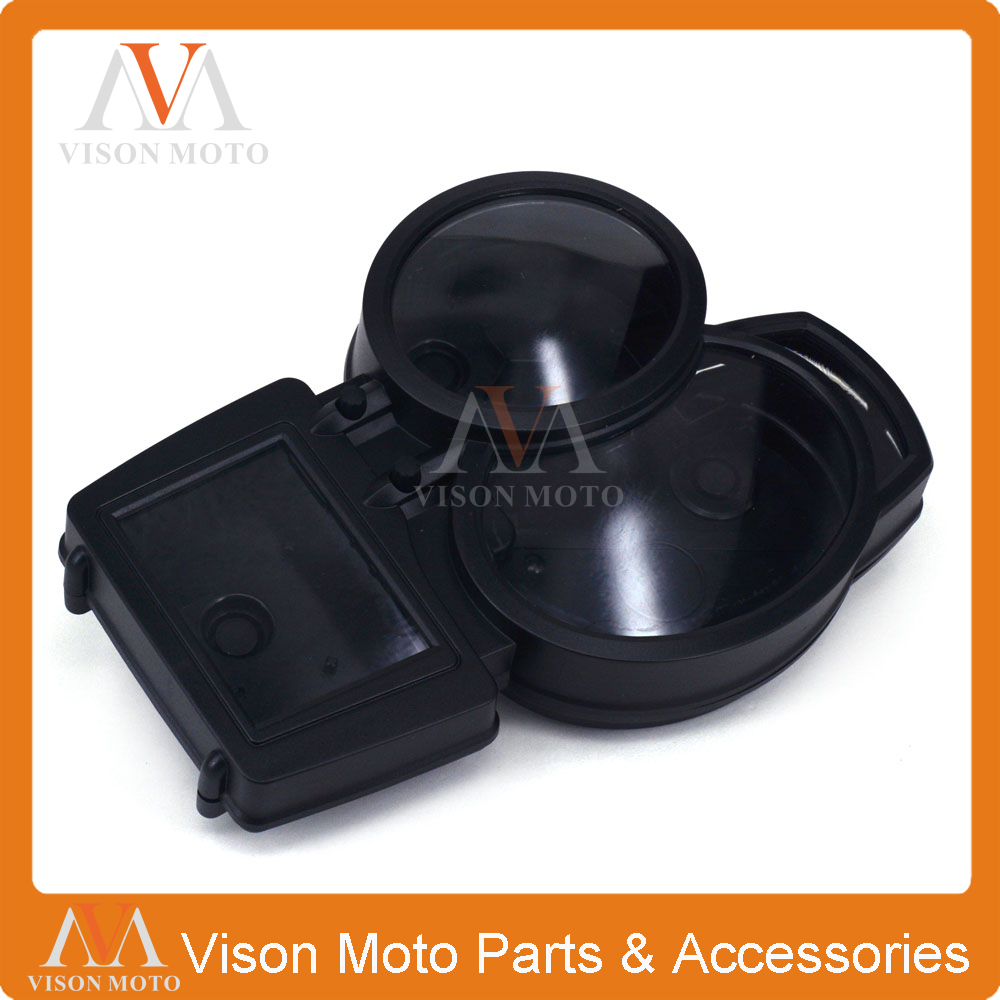 Speed Meter Clock Instrument Case Gauges Odometer  Tachometer Housing Box Cover For BMW F800GS 2008 2009 2010 2011 2012 2013 new piece motorcycle gauges cover case housing speedometer for bmw s1000rr 2009