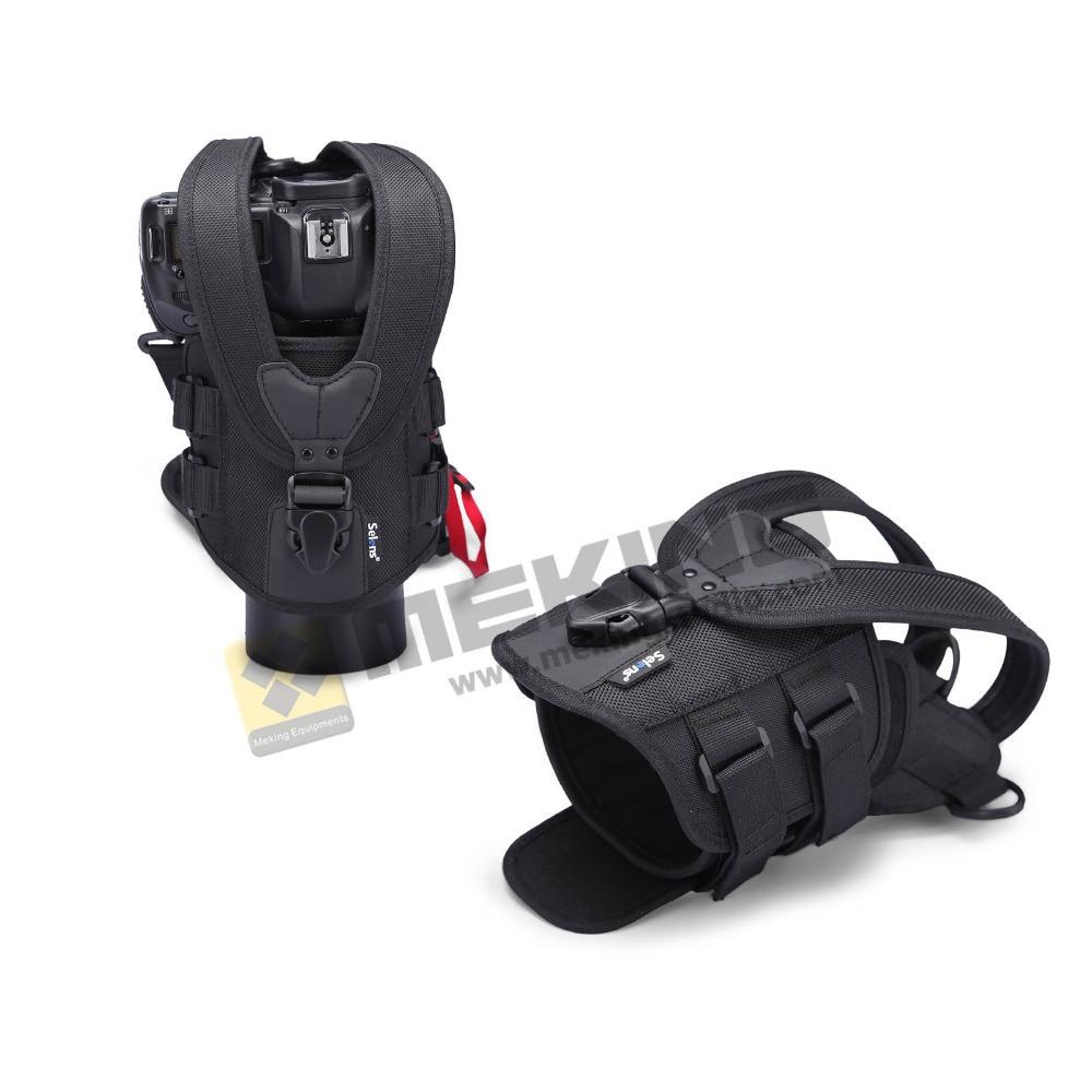 Selens SE-01CH DSLR camera bag case cover réglable bande protecteur pour DSLR SLR Canon nikon DSLR D90 D750 D5600 D5300 d5100