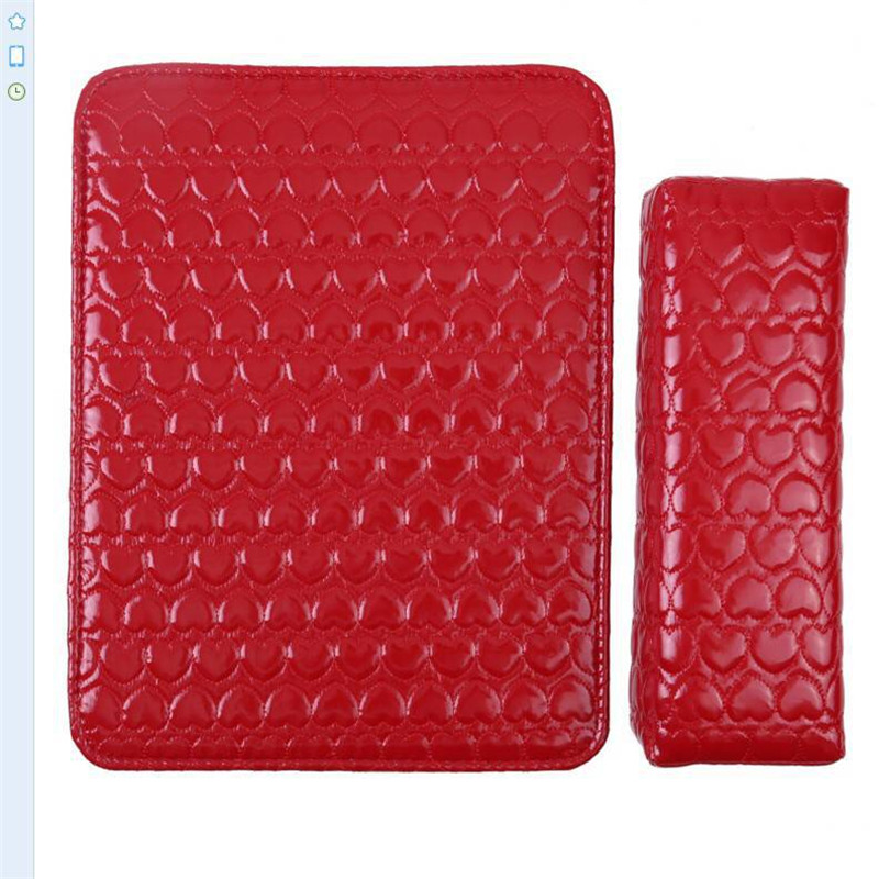PU Leather Hand Cushion Pillow And Pad Rest Nail Art Arm Rest Holder Manicure Nail Art Accessories Soft Manicure Pads leopard grain pattern manicure nail beauty wrist cushion pillow brown yellow black