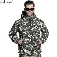 SINAIRSOFT Jacket Military Army Tactical Men Coat Lurker Shark Skin Soft Shell Windproof Hunting Camping Windbreaker
