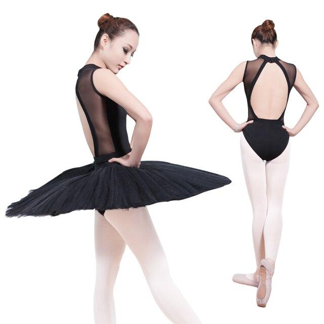 6dbf85f55 Sexy Lace Sleeveless Turtleneck Backless Gymnastics Bodysuit Women ...
