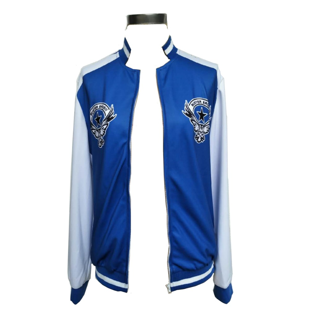 MMGG Halloween hypnosismic Division Rap Battle jiro yamada cosplay Costume blue jacket High Quality