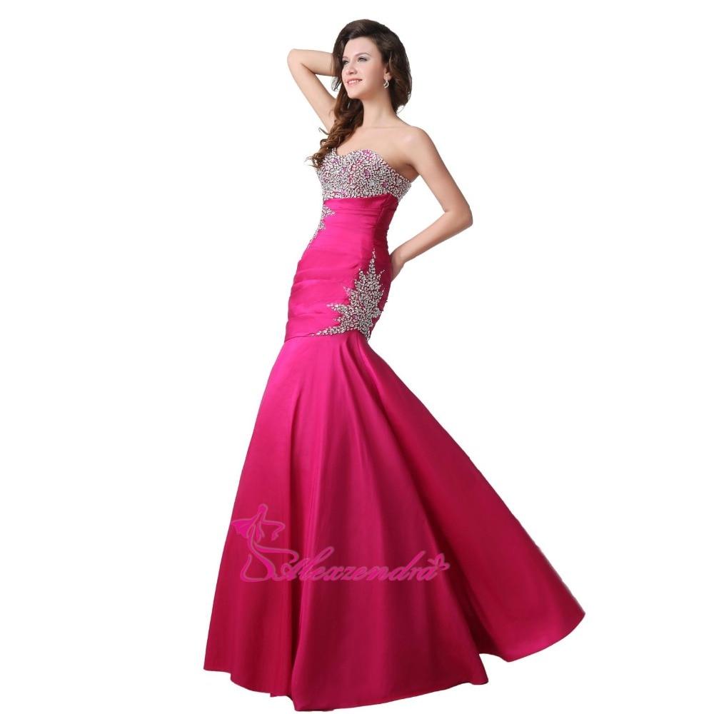 4f7edc03619 Pink Strapless Long Mermaid Prom Dress - Gomes Weine AG