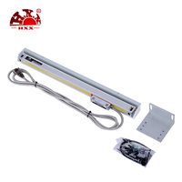 5um 1300mm Digital Linear Scale For Milling Lathe Machine,without wooden box,cable length 7.8m