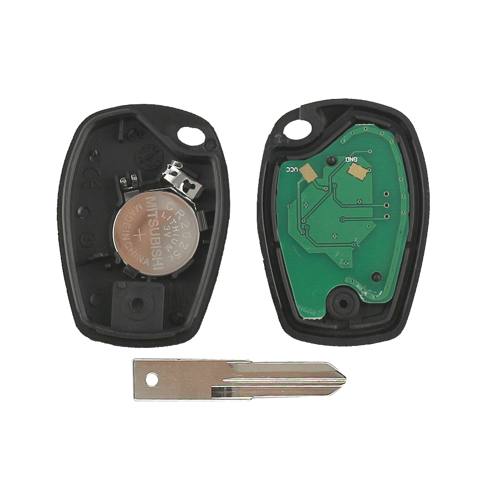 Image 5 - YIQIXIN 2 Button Remote Car Key Fob 433Mhz ID46 PCF7947 Chip Fit For Renault Duster Clio DACIA Logan Sandero With VAC102 Blade-in Car Key from Automobiles & Motorcycles