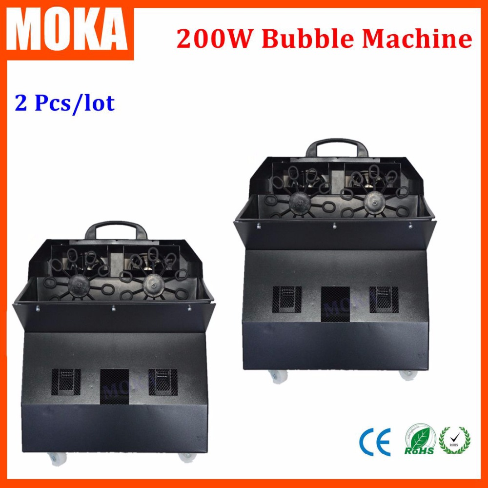 2 Pcs/Lot Soap Making Machine Wheeled Big Bubble Machine Wedding/ Concert/Party Stage Effect Equipment