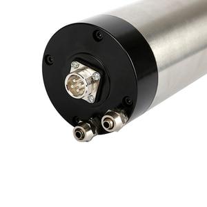 Image 5 - CNC 2200W 수냉 스핀들 모터 220V 2.2KW 80mm ER20 수냉식 스핀들 조각 밀링 머신.