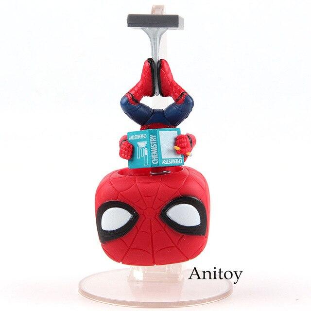 Vinyl Figure Spider Man Bobble Head Homecoming Spiderman Hot Toys