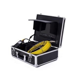 """Image 3 - WP90 20 m 30 m 50 m Conduttura Industriale Endoscopio 6.5/17/23mm Snake Video Della Macchina Fotografica 9 """"LCD Scarico Fognario Tubo di Ispezione Sistema di Telecamere"""