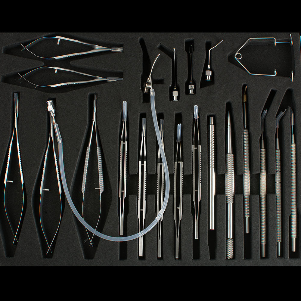 21 Ophthalmic Cataract Eye Micro Surgery Surgical Instruments SET 100% WARRANTY 20pcs lot 493c33 to 252