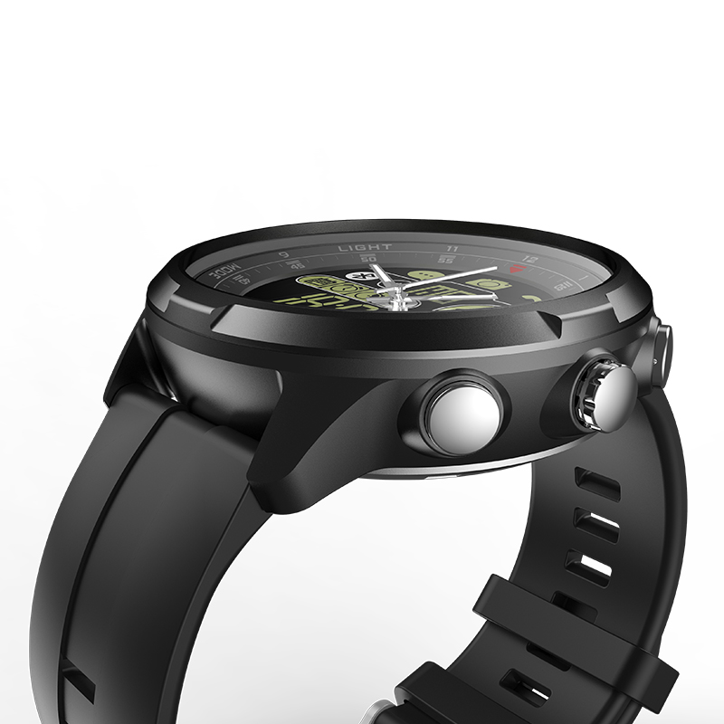 New Zeblaze VIBE 4 Hybrid Flagship Rugged Smartwatch 50M Waterproof 33-month Standby Time 24h All-Weather Monitoring Smart Watch 21