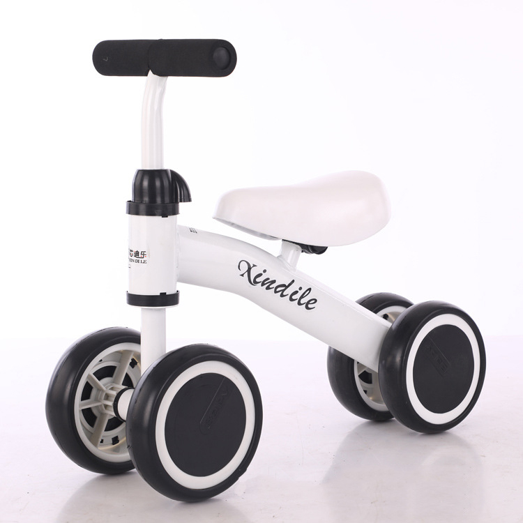 Balance car baby walker scooter 1-3 year old baby slide car children four wheel without foot pedal balance car