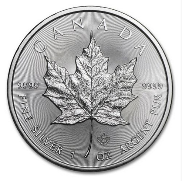 2015 1 Oz Silver Canadian Maple Leaf Coin 20pcs Lot Free
