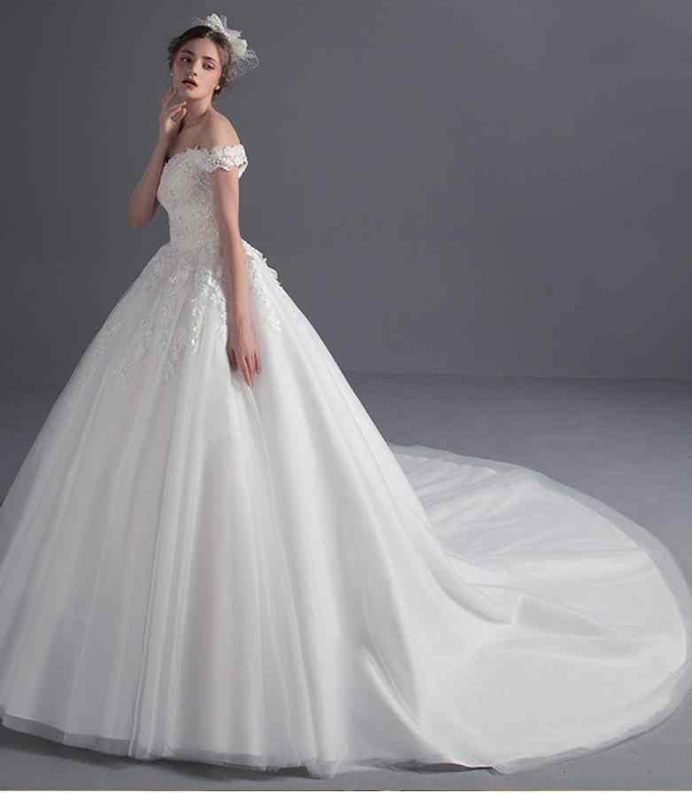 Pregnant Wedding Dress.Maternity Wedding Dresses Long Train For Pregnant 2019 Off Shoulder Lace China Bridal Gowns Robe De Mariage Vestido De Noiva