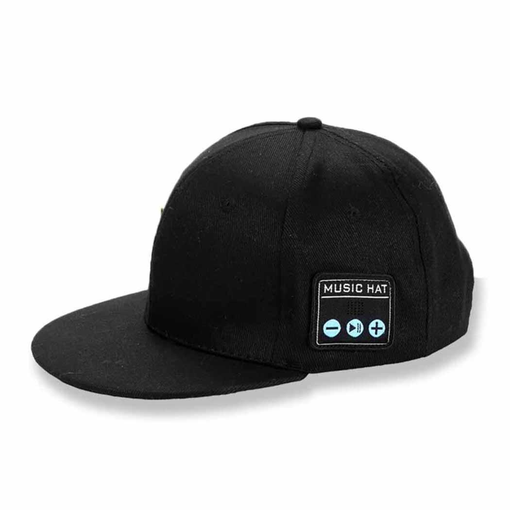 Wireless Bluetooth Stereo Loud Volume Headphones 1.5H Music 3.7V Earphones Cap Multi-function DW01+8205S Hat