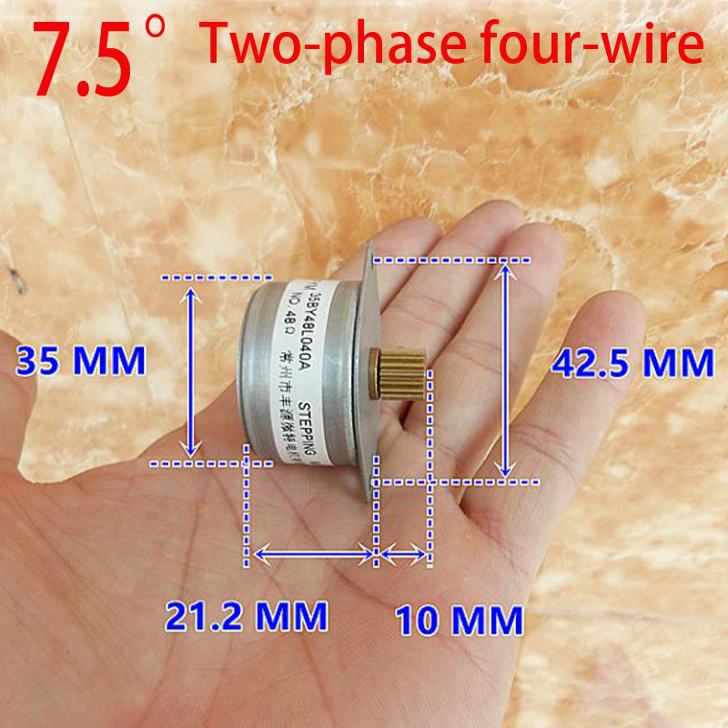 Two-phase four-wire 35mm Stepper Motor Cnc Motor Stepper Machine Micro Stepper Motor Mini Stepper Step MotorTwo-phase four-wire 35mm Stepper Motor Cnc Motor Stepper Machine Micro Stepper Motor Mini Stepper Step Motor
