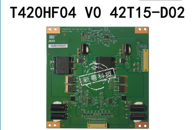 T-con T420HF04 V0 42T15-D01 42T15-D00/2 fuente de alimentación de la placa lógica PARA LA PANTALLA LED