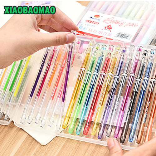 New 12/24/36 Color Gel Ink Pens,The Best Gel Pens Set for Adult Colouring Books,Draw,and Write,with 0.5mm Tip Range