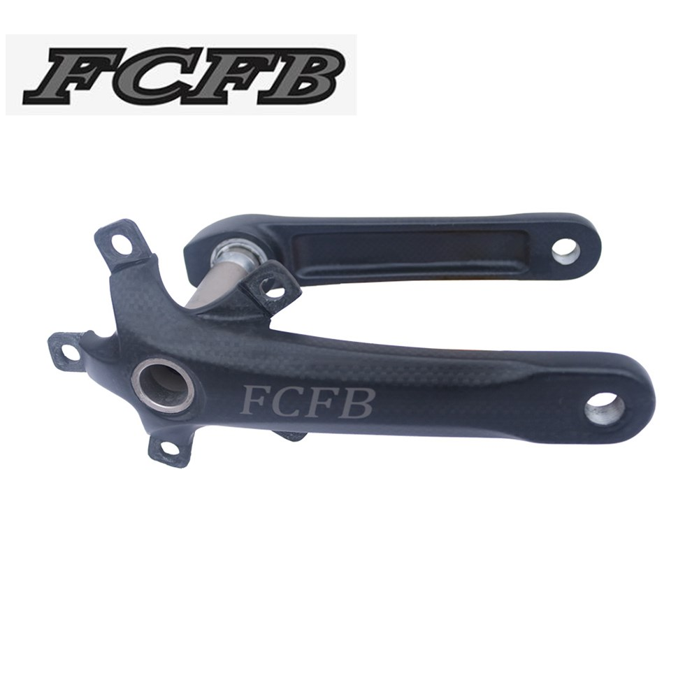 2017 FCFB 3K matt Carbon Crank Road Bike Crank BCD110mm road Bicycle Crank Bike Crankset Bike parts 3K Glossy/Matte FW-CRR-2 fcfb carbon fiber bicycle crank road bike crankset carbon crank road bike crank bcd110 lenght 170mm 440g bike accessaries