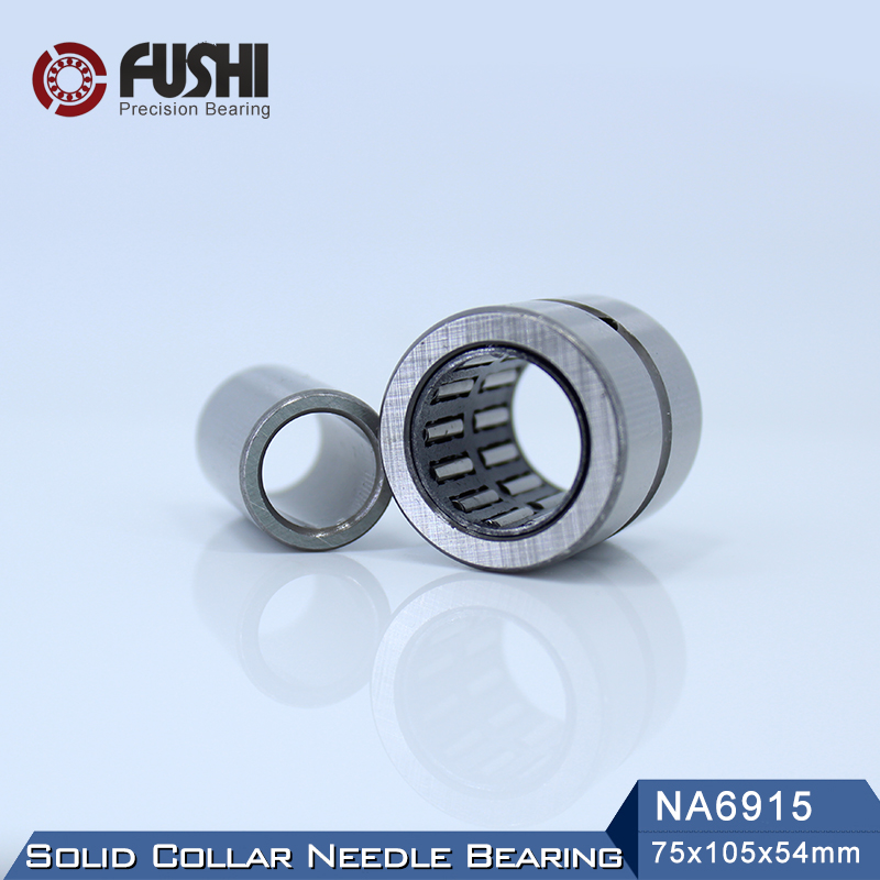 NA6915 Bearing 75*105*54 mm ( 1 PC ) Solid Collar Needle Roller Bearings With Inner Ring 6534915 6254915/A Bearing sce2020 bearing 31 75 38 1 31 75 mm 1 pc drawn cup needle roller bearings b2020 ba2020z sce 2020 bearing