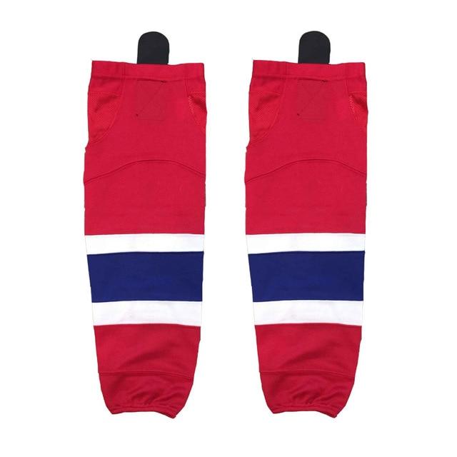 Coldindoor 100 Polyester Canada Ice Hockey Socks Cheap Shin Guards