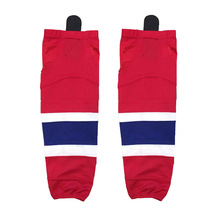 COLDINDOOR 100% Polyester Canada Ice Hockey Socks Cheap Shin Guards For Team