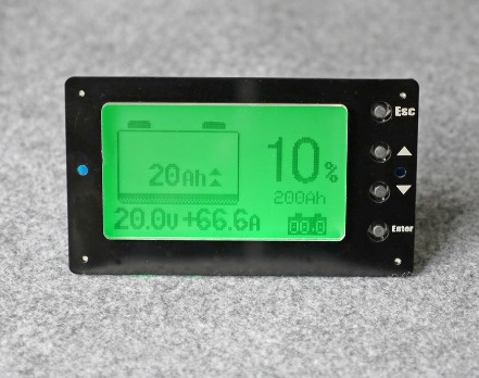 LCD DISPLAY battery capacity indicator BATTERY level display big size screen Lithium iron phosphate Battery remaining level test free customs taxes 52v lithium ion battery 51 8v 40ah battery pack 52v lithium iron phosphate battery on sale for ups led