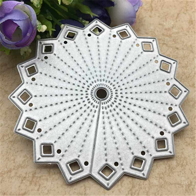 3D flower die hook Metal Cutting Dies Stencils for DIY Scrapbooking/photo album Decorative Embossing DIY Paper Cards