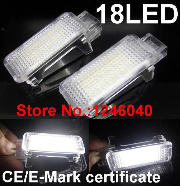 Led Car Interior Lamp Seat Light Footwell Light For Audi A2 A3 S3 A4
