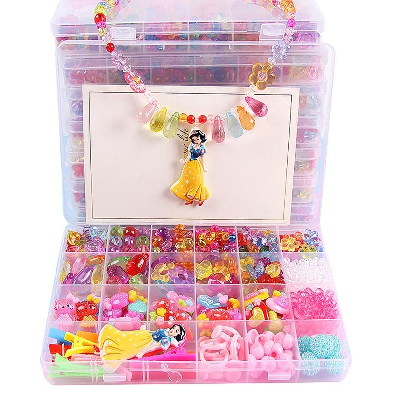 DIY Beaded Toys child handmade hand-made beaded toys nursery handmade bracelet necklace Material Girl Create gift