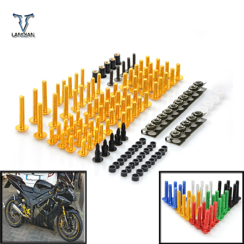 Motorcycle Accessories Fairing windshield Body Work Bolts Nuts Screw For Honda CBR600RR CBR1000RR CBR 600 F4 For Harley Touring